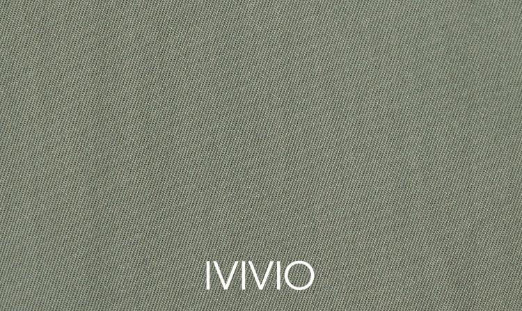 엠비오(MVIO) 카키 후드 세미오버 트렌치 코트