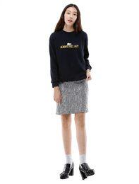 [셀럽's PICK] [KAKAO FRIENDS] TUBE 레터링 스웨트 셔츠