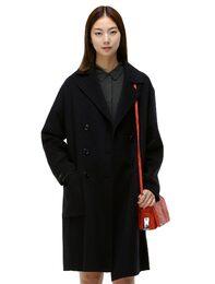 [HAND MADE] 울혼방 소프트 더블버튼 코트