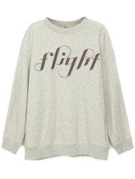 FLIGHT 레터링 티셔츠