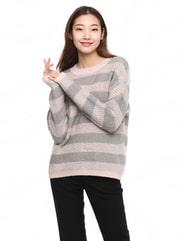 망고 스트라이프 스웨터