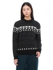에스닉 별 스웨터
