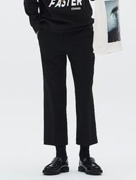 [8 X 지드래곤] 블랙 부츠컷 팬츠_ G-Dragon GD 지디 콜라보