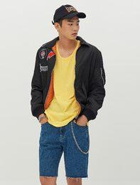 [8 X 지디스픽] 블랙 와펜 MA-1_ G-Dragon GD 지드래곤 콜라보