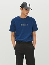 [8 X 지디스픽] 이니셜 그래픽 레이어드 티셔츠_ G-Dragon GD 지드래곤 콜라보