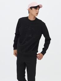 [8 X 지디스픽] 블랙 그래픽 스웨트 스웨거_ G-Dragon GD 지디 콜라보