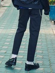 [8 X 지디스픽] 블랙 밴딩 10부 슬랙스_ G-Dragon GD 지드래곤 콜라보
