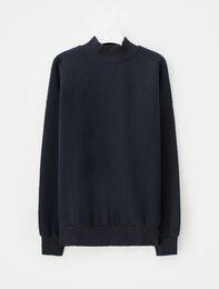 [에잇몬]네이비 MONS 스웨트 셔츠