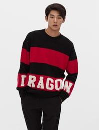 [8 X 지디스픽]GD 드래곤 레터링 풀오버_ G-Dragon GD 지드래곤 콜라보
