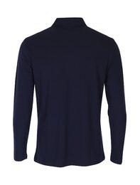 (남) [1st CLUB] V배색 네이비 피케 카라 티셔츠