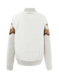 [CLASSIC] 남성 아이보리 패턴 패딩 스웨터