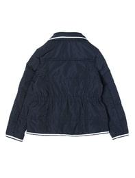 네이비 컬러 숏 패딩 자켓