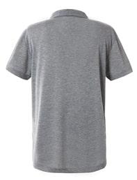 그레이 공용 베이직 카라 티셔츠