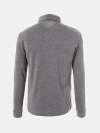 그레이 공용 베이직 칼라 티셔츠