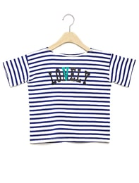 SIUSIU LONELY/LOVELY T SHIRT BLUE