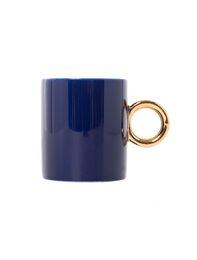 BLUE GOLD MUG