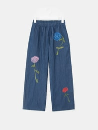 [BEAKER X MAH SOYOUNG] THE GARDEN JUST FOR US TROUSERS