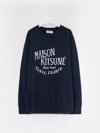 MAISON KITSUNE SWEAT SHIRT NAVY