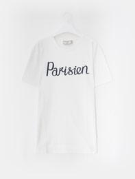PARISIEN PRINT WHITE T-SHIRTS