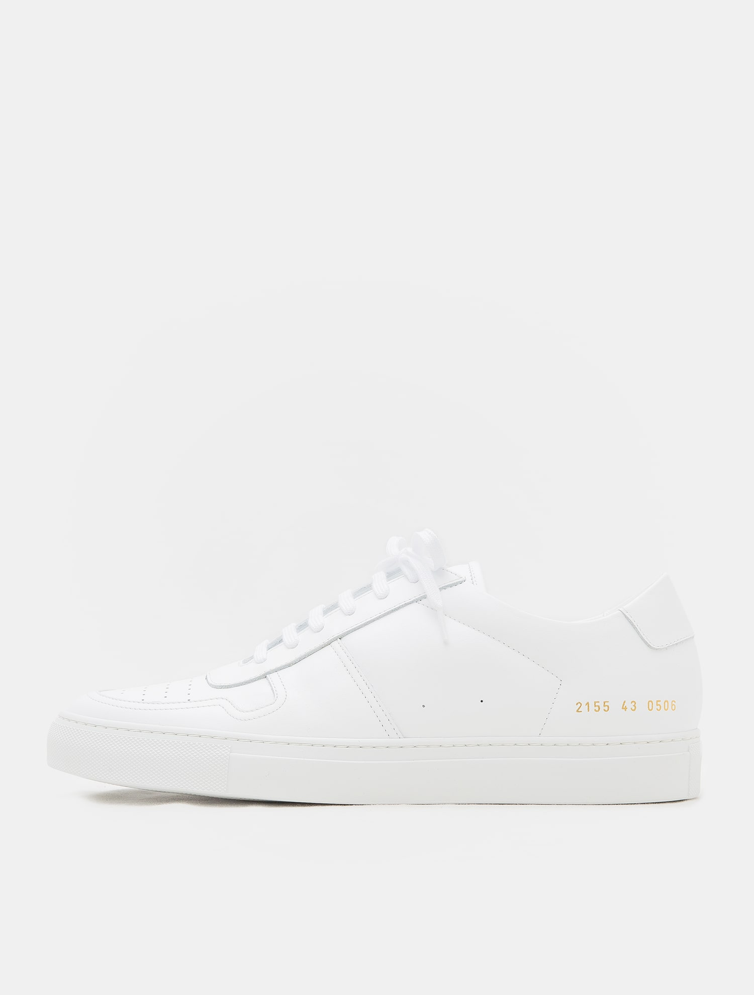 5ad3abce9d78 Common Projects   QM89K3CP21.  40%OFF  18FW B-ball Low In Leather – White ( Men)