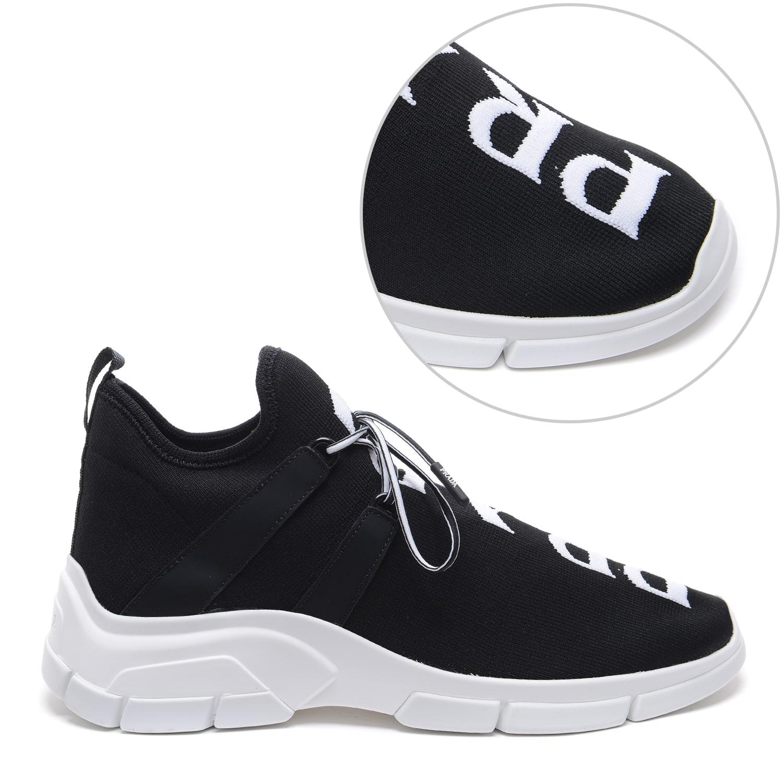 Prada-Knit Socks Sneakers (Men