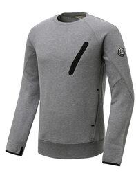 그레이 남성 라이딩 테이프 맨투맨 티셔츠