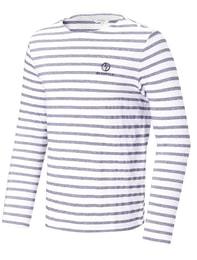 화이트 남성 피케스트라이프 티셔츠