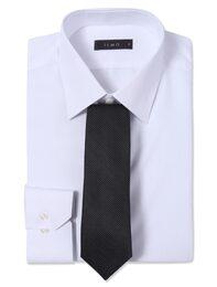 [SLIM FIT] 화이트 솔리드 드레스셔츠(MA58640201)