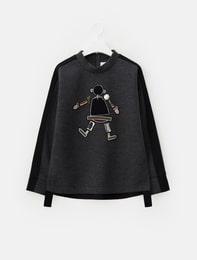 People Neoprene Sweat Shirt (Ash)