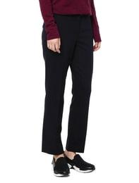 [Edit] Stripe Pattern Banding Pants(Navy)