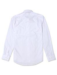 [YOUTH FIT] 화이트 솔리드 드레스셔츠(MK57640101)